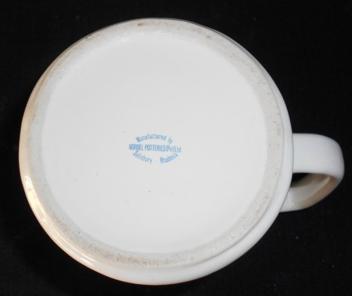 Large 1977 Operation Hurricane Gold Detailed Beer Mug