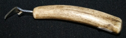 Vintage Hand Carved Bone Bottle Opener