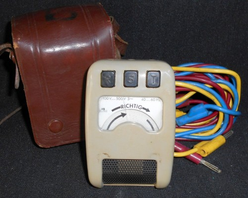 Vintage German HB Elba Richtig Voltage Tester