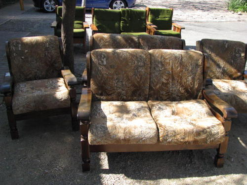 A 1970s Retro Grafton Everest Wood Lounge Suitea 3 Seat 2 Seat And 1 Single At Craazzyy R1 Start