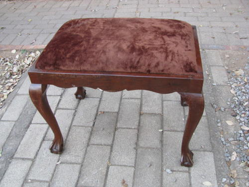 Fantastic Imbuia 1930S 40S Ball And Claw Dressing Table Or Piano Stool Bidorbuy Co Za Machost Co Dining Chair Design Ideas Machostcouk