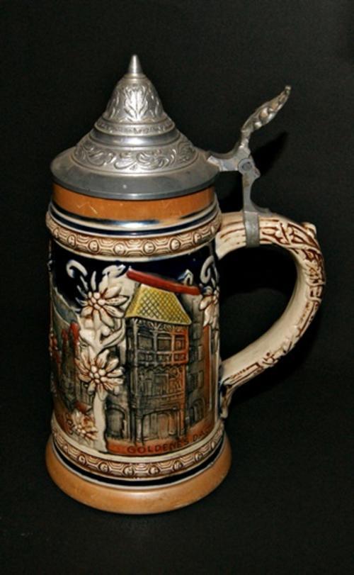 German Porcelain Highly Collectable German Beer Stein Wekara Craazzyyy R1 Start Was