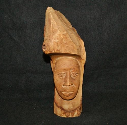 Masks wood carvings stunning old african carved female