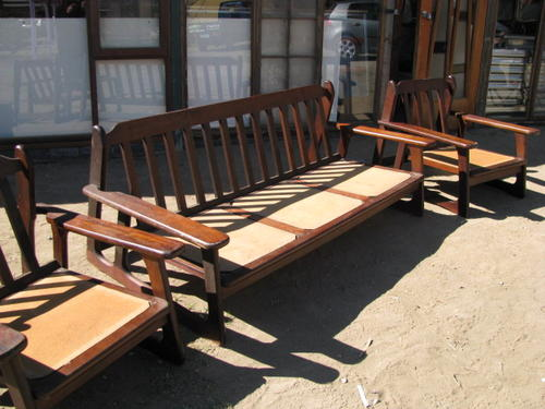 Solid Wood Lounge Suite Really Comfortable Piece