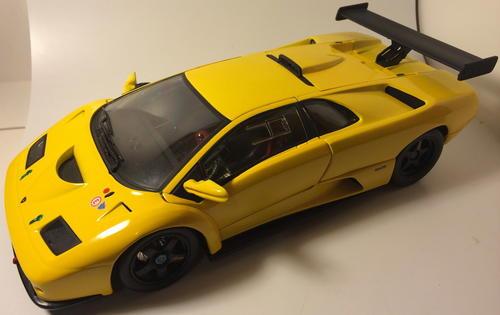Models Hot Wheels Lamborghini Diablo Gtr 1 18 Scale Diecast