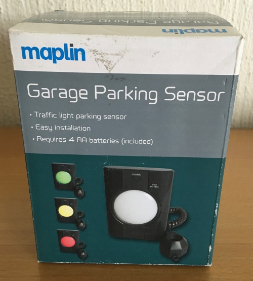 Parking Garage Sensor Lights: Maplin Garage Parking Sensor Light Was
