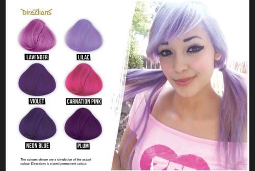Hair Colourants Amp Dyes Lilac La Riche Directions Semi