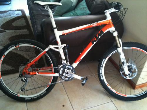 Full Suspension Ktm Lycan 2 0 Mountain Bike Price Dropped