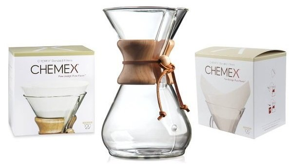 Chemex Coffee Maker Sizes : Espresso & Coffee Machines - Chemex Coffee Maker 8 Cup & Filter Bundle was listed for R1,299.00 ...