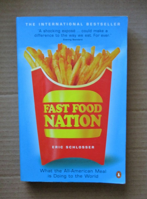 book report fast food nation Outside the book chapter summaries the american for schlosser's real project--which is to illuminate the machination of the contemporary fast-food nation.