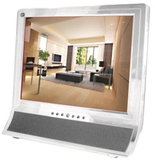 Telefunken 15 LCD TV White (TLCD-150HDW) HDMI VGA