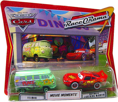 Mattel Disney Cars Race O Rama Fillmore Bully