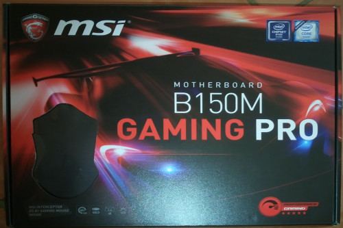 MSI B150M Gaming Pro LGA 1151 Intel B150 HDMI SATA 6Gb/s USB 3 1 Micro ATX  Intel Motherboard