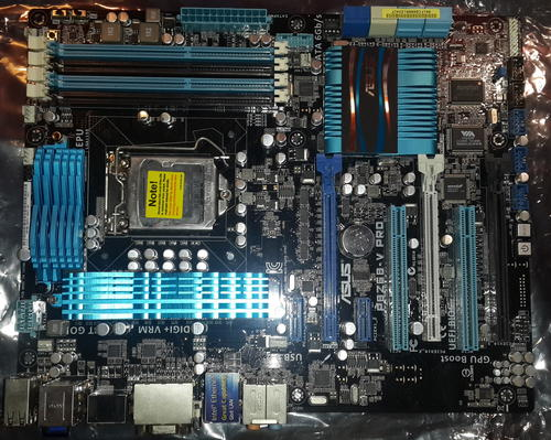 ASUS P8Z68-V PRO LGA 1155 Intel Z68 HDMI SATA 6Gb/s USB 3 0 ATX Intel  Motherboard with UEFI BIOS