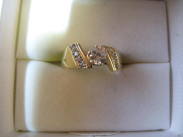wedding rings diamond ring 18kt solid gold wedding ring was sold