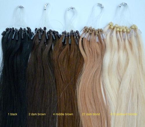 Hair extensions weaves 100 micro loop ring strands indian 100 micro loop ring strands indian remy human hair extensions 14 35 cm aaa quality pmusecretfo Gallery