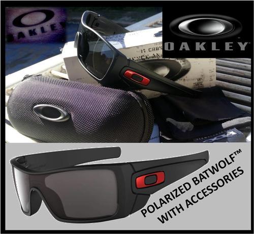oakley batwolf black polarized