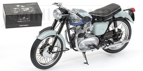 Models Triumph Bonneville T120 1959 Greyblue Was Sold For