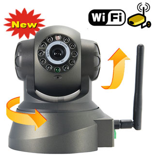 Wireless IP Webcam Camera, Night Vision 11 LED, WIFI Cam