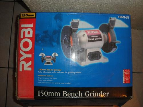 Grinders 150mm Bench Grinder Ryobi Hbg6e Was Sold For