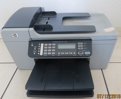 printers hp officejet 5610 all in one printer scanner copier fax was listed for on 8. Black Bedroom Furniture Sets. Home Design Ideas