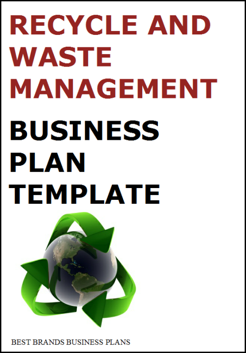 A Sample Waste Management Business Plan Template