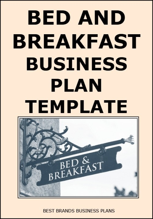 writing a business plan for a bed and breakfast