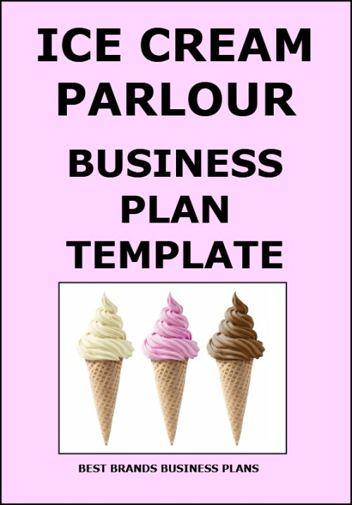 Ice cream business plan sample