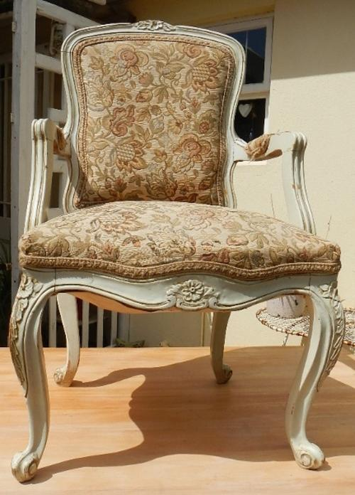Chairs Stools Footstools French Antique Arm Chair Cape Town Area D