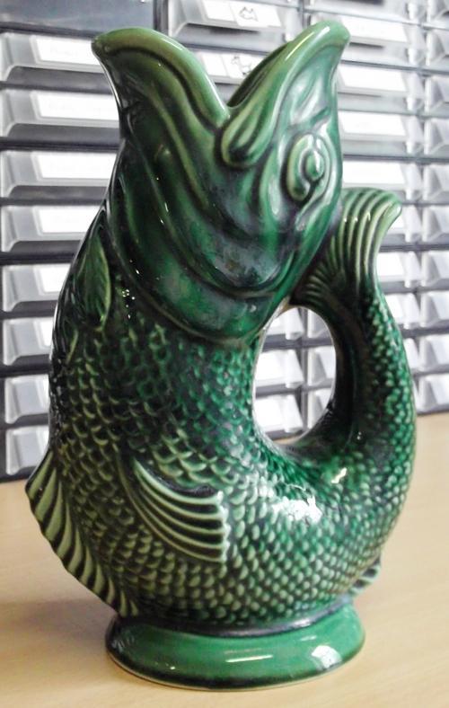 Vases Vintage Fish Vase By Dartmouth Pottery Devon England As