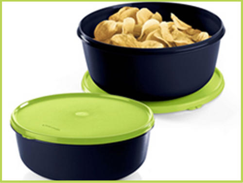This modular bowl is ideal to store your pancakes,waffles ...They fit perfectly in this attractive bowl.Also ideal to carry your deserts around -the lid is ...