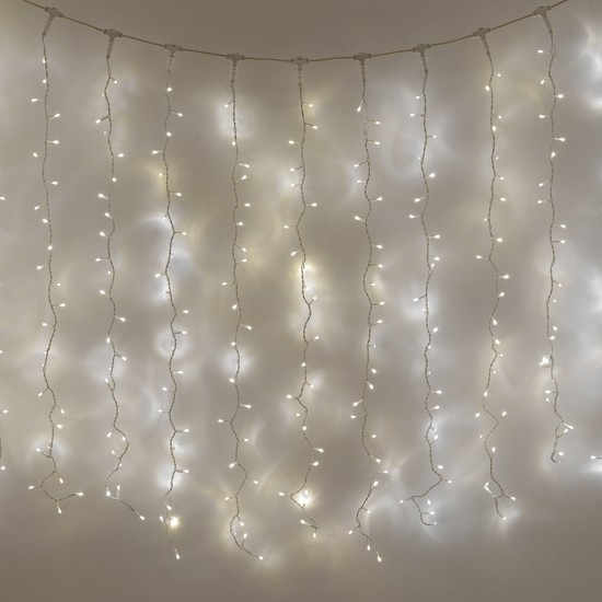 Holiday Decor 10m 400 Led Curtain Fairy Lights In