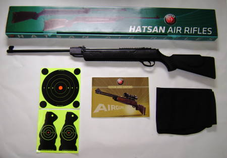 Brand New - Hatsan Mod 80 Air Rifle - with extras