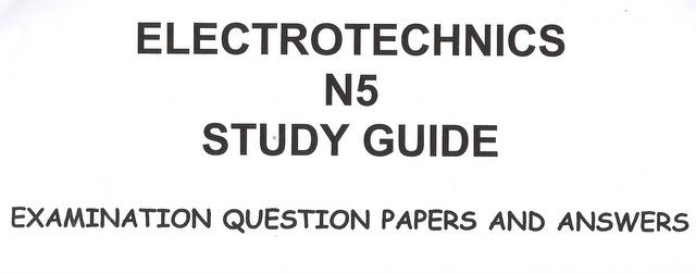 business management sciences electrotechnics n5 exam question rh bidorbuy co za