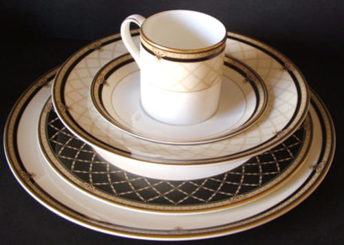 5 Piece Royal Doulton (Baroness) & English Porcelain - 5 Piece Royal Doulton (Baroness) was sold for ...