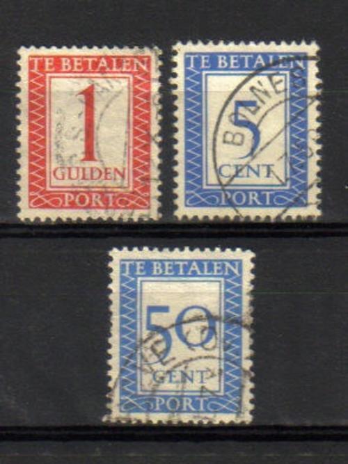 Netherlands Amp Colonies Nederland 3 Quot Te Betalen Quot Stamps