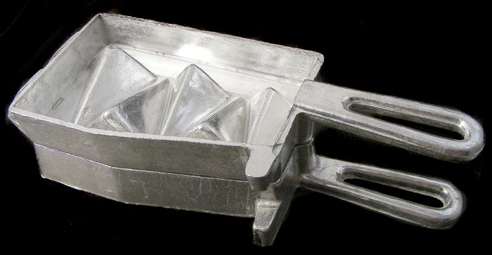 Aluminium Pyramid Sinker Mold - makes 5 sizes in one go! | bidorbuy co za