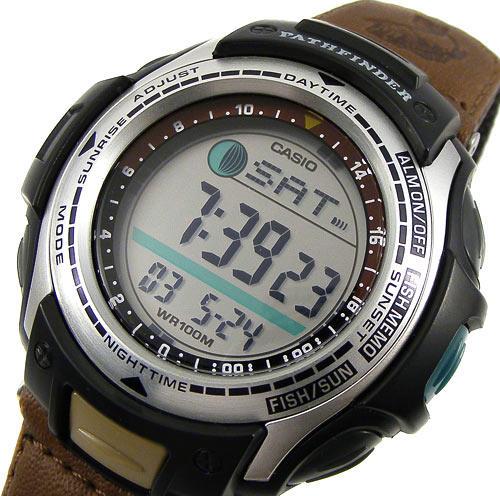 Stopwatches sport watches casio pathfinder fishing for Casio pathfinder fishing watch
