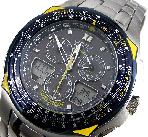 controlled radio t cropped black first p watches strap skyhawk class a at citizen fffcfa rubber mens thumb