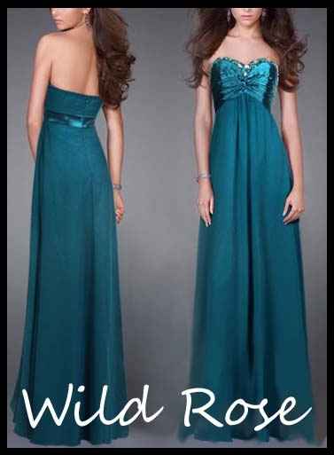 Formal dresses in stock teal cruise formal wedding for Wedding dresses for cruise ship