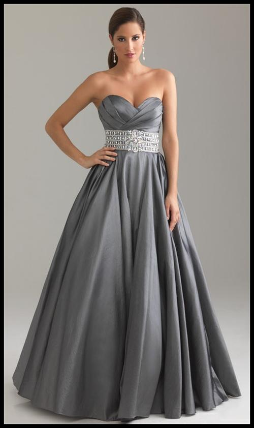 Formal Dresses Grey Wow Beautiful Evening Ball Party Matric