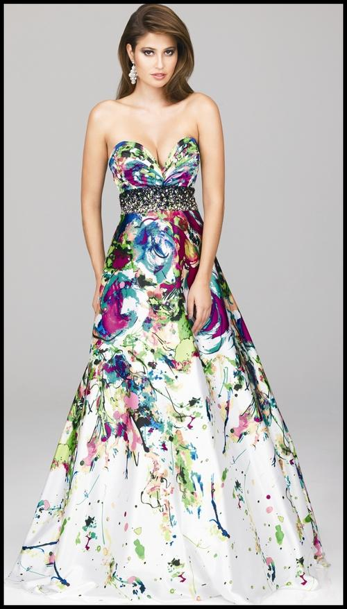 Formal Dresses Stunning Floral Evening Ball Party Matric Dance