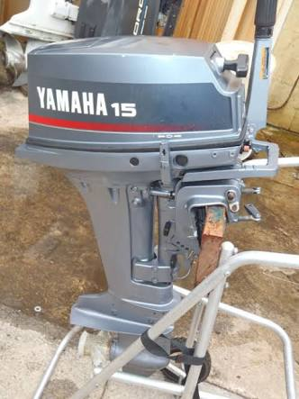 Other Boat Motors 15 Hp Yamaha Outboard Motor Was Sold For R7 000 00 On 1 Oct At 16 26 By Gadget4u In George Id 202764377
