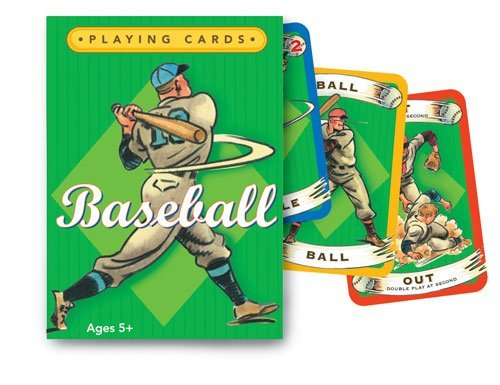 Baseball poker card game