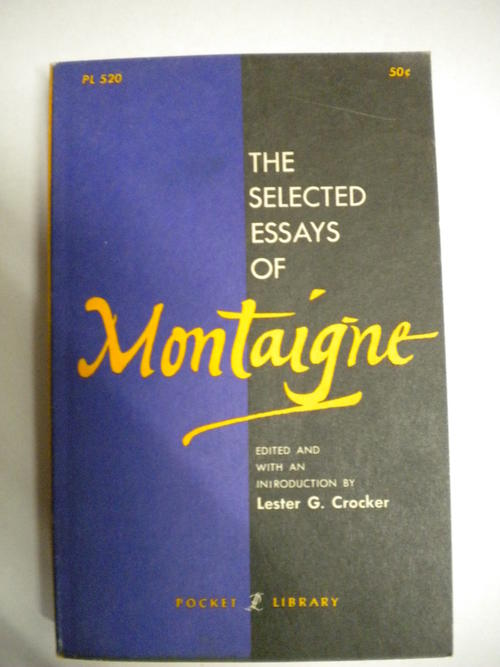montaigne essays to the reader