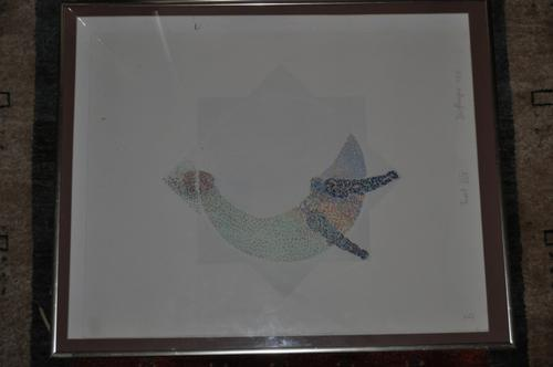 GREAT INVESTMENT!!! SIGNED LITHOGRAPH BY FAMOUS GERMAN ARTIST JOHANNES  DORFLINGER