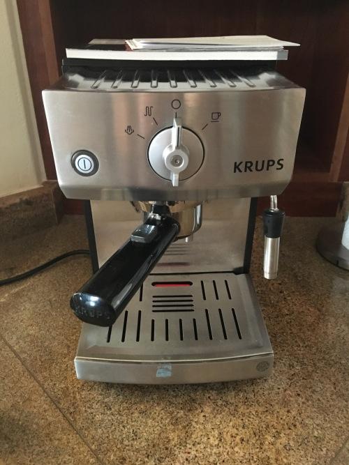 krups cappuccino machine manual