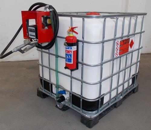 Heavy Equipment Trailers Mobile Diesel Pump Stoor Transport