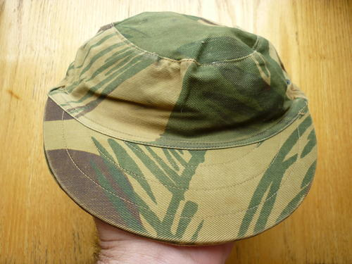 RHODESIAN CAMO CAP - ORIGINAL IN GOOD CONDITION - BRIM STIFF AND NOT OUT OF  SHAPE 739bfa82c7c