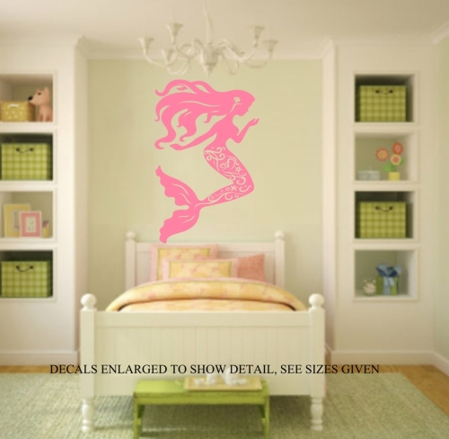 Mermaid Bedroom Silhouette